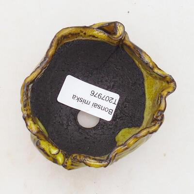 Ceramic shell 6.5 x 7 x 6 cm, color yellow - 3