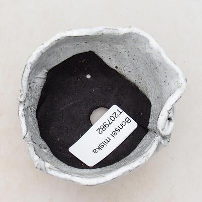 Ceramic shell 7.5 x 7 x 5 cm, white color - 3
