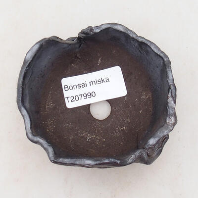 Ceramic shell 8 x 7 x 5 cm, metal color - 3
