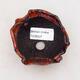 Ceramic shell 7.5 x 6.5 x 5 cm, color orange - 3/3