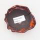 Ceramic Shell 7 x 8.5 x 5.5 cm, color orange - 3/3