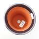 Ceramic bonsai bowl 10.5 x 10.5 x 14 cm, metal color - 3/3
