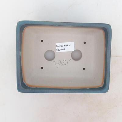 Bonsai bowl 17 x 13 x 7 cm, color blue - 3