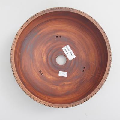 Ceramic bonsai bowl - fired in a 1240 ° C gas oven - 3
