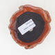 Ceramic shell 7 x 7 x 5.5 cm, color orange - 3/3