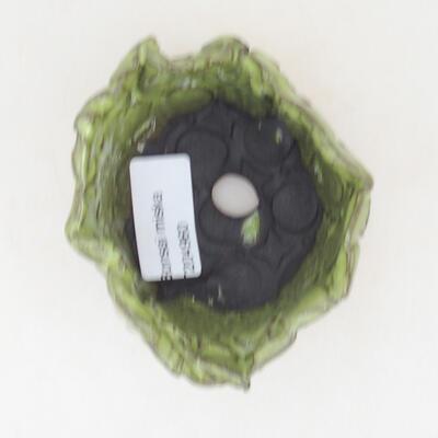 Ceramic shell 8 x 7 x 5.5 cm, color green - 3