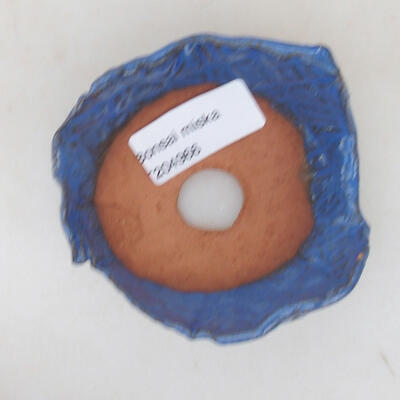 Ceramic shell 7 x 7 x 4 cm, color blue - 3