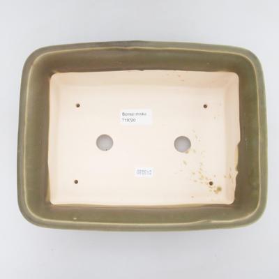 Ceramic bonsai bowl - fired in a gas oven 1240 ° C - 3