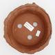 Ceramic bonsai bowl - fired in a gas oven 1240 ° C - 3/4