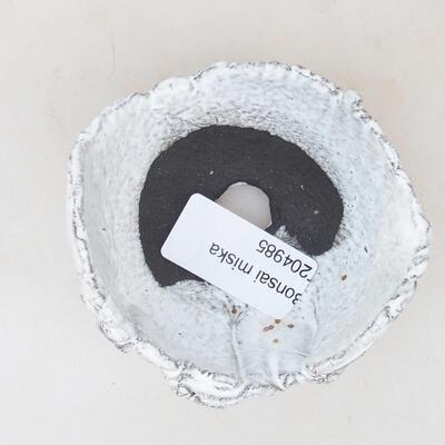 Ceramic shell 6 x 6 x 5.5 cm, white color - 3