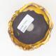 Ceramic shell 7 x 7 x 5.5 cm, color yellow - 3/3
