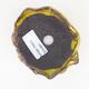 Ceramic shell 8 x 6 x 4.5 cm, yellow color - 3/3