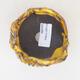 Ceramic shell 7 x 7 x 7.5 cm, yellow color - 3/3