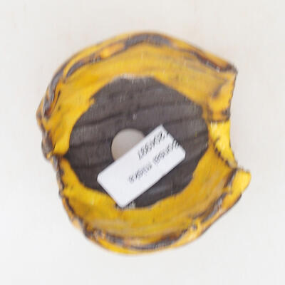 Ceramic shell 7 x 7 x 6.5 cm, color yellow - 3