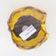 Ceramic shell 7 x 7 x 6.5 cm, color yellow - 3/3
