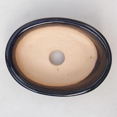 Ceramic bonsai bowl H 04 - 10 x 7,5 x 3,5 cm - 3