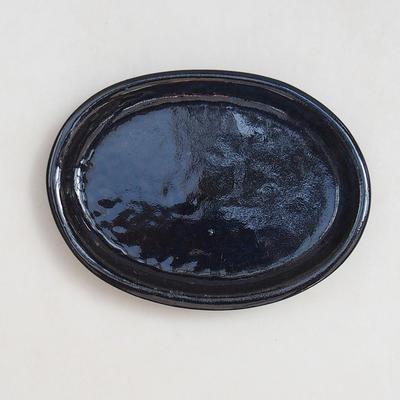 Bonsai bowl, tray H04 - bowl 10 x 7,5 x 3,5 cm, tray 10 x 7,5 x 1 cm - 3