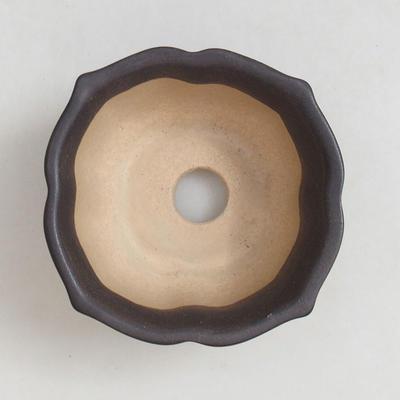 Bonsai bowl + tray H95 - bowl 7 x 7 x 4,5 cm, tray 7 x 7 x 1 cm - 3