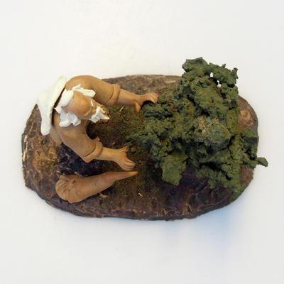 Ceramic figurine - Bonsaijista - 3
