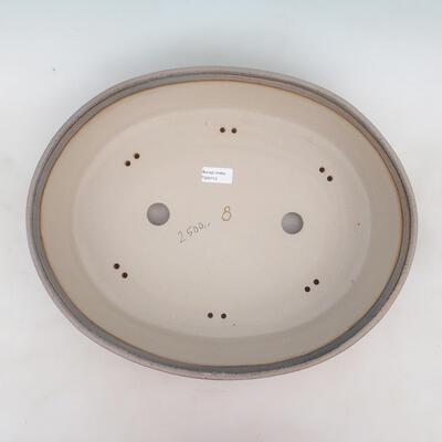 Bonsai bowl 44 x 35 x 11.5 cm, gray-beige color - 3