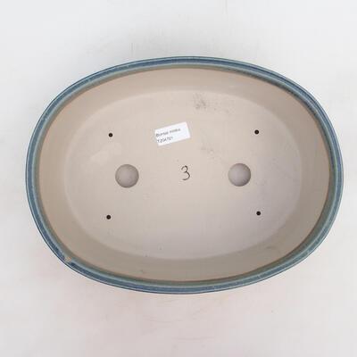 Bonsai bowl 31 x 24 x 10 cm, color blue - 3