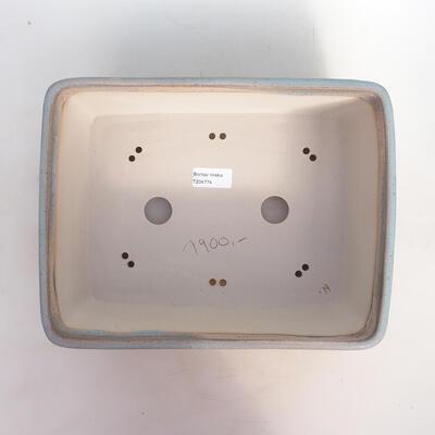 Bonsai bowl 31 x 23.5 x 10.5 cm, color beige-gray - 3