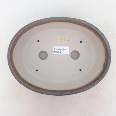 Bonsai bowl 22 x 17 x 7 cm, color gray - 3