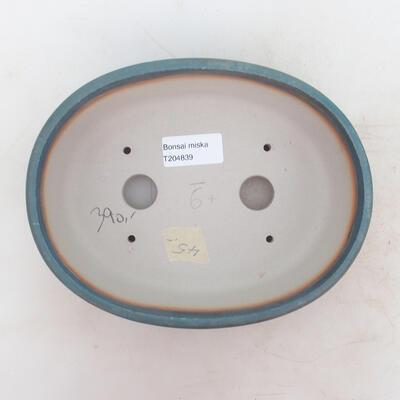 Bonsai bowl 20 x 15.5 x 6 cm, color blue - 3