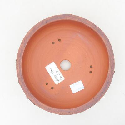 Ceramic bonsai bowl 15.5 x 15.5 x 5.5 cm, cracked color - 3