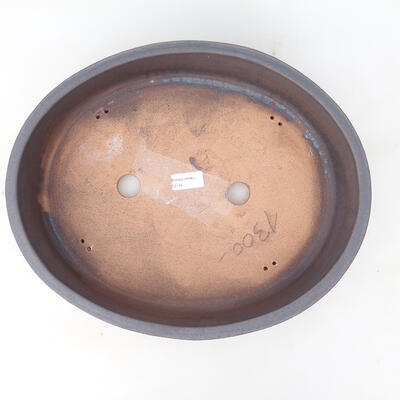 Ceramic bonsai bowl 15.5 x 15.5 x 5 cm, cracked color - 3
