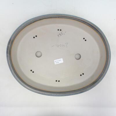 Bonsai bowl 43 x 33.5 x 8.5 cm, color blue-gray - 3