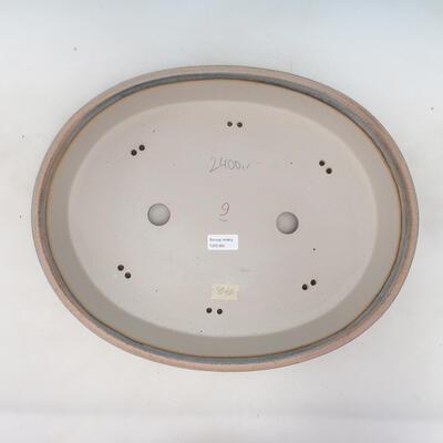 Bonsai bowl 45 x 35.5 x 8.5 cm, color beige-gray - 3
