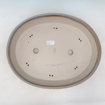 Bonsai bowl 44.5 x 35.5 x 8.5 cm, color beige-gray - 3
