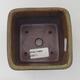 Ceramic bonsai bowl 12 x 11 x 3 cm, color blue - 3/3