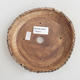 Ceramic bonsai bowl - fired in a 1240 ° C gas oven - 3/4