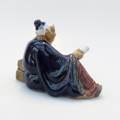 Ceramic figurine - Reader - 3