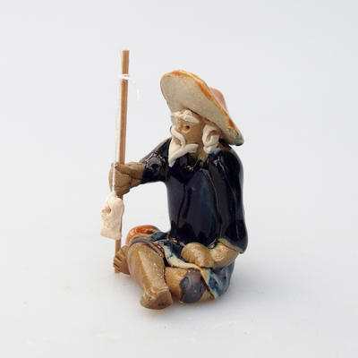 Ceramic figurine - Fisherman - 3
