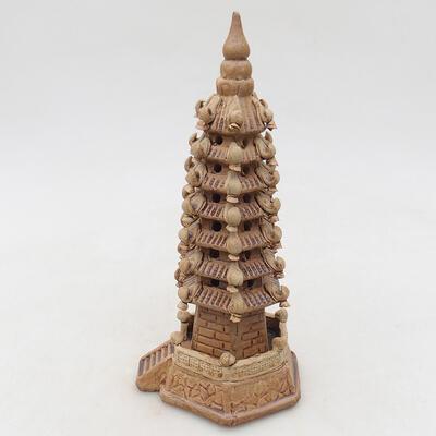 Ceramic figurine - Pagoda F7 - 3