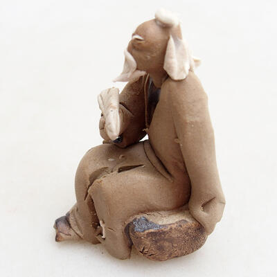 Ceramic figurine - Stick figure H0-3 - 3