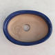 Bonsai ceramic bowl H 04, blue - 3/3