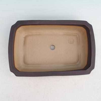 Ceramic bonsai bowl H 07 - 30 x 21,5 x 8,5 cm - 3