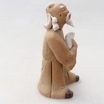 Ceramic figurine - Stick figure H26v - 3