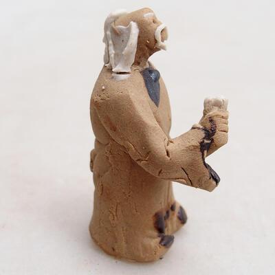 Ceramic figurine - Stick figure H28 - 3