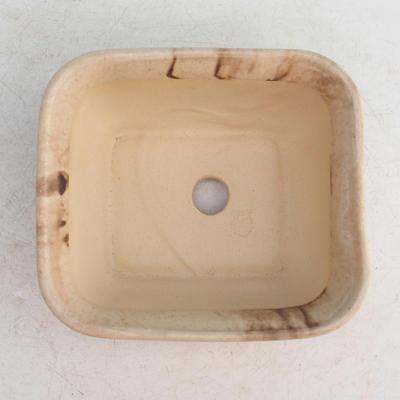 Ceramic bonsai bowl H 36 - 17 x 15 x 8 cm, beige - 17 x 15 x 8 cm - 3