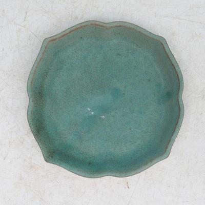bonsai bowl and tray of water  H95, green - 3