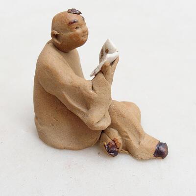 Ceramic figurine - Stick figure I3 - 3