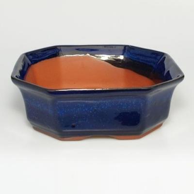 Bonsai bowl tray H14 - bowl 17,5 x 17,5 x 6,5, tray 17,5 x 17,5 x 1,5 - 3
