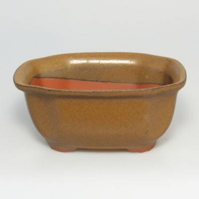 Bonsai bowl tray H32 - bowl 12.5 x 10.5 x 6 cm, tray 12.5 x 10.5 x 1 cm - 3