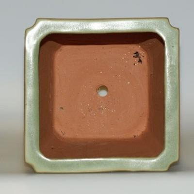 Ceramic bonsai bowl H 22 - 17,5 x 17,5 x 29 cm - 3