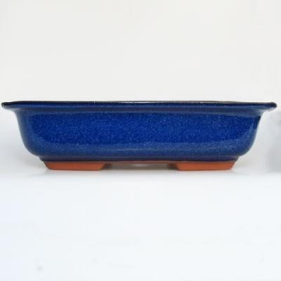 Bonsai bowl + tray H09 - bowl 31 x 21 x 8 cm, tray 28 x 19 x 1,5 cm - 3